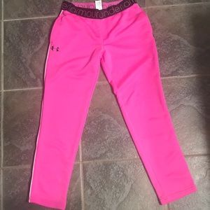 Youth M Under Armour Loose Athletic Sweatpants